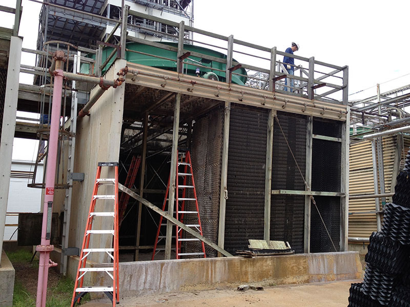 Cooling Tower Repair And Reconstruction Services Towers