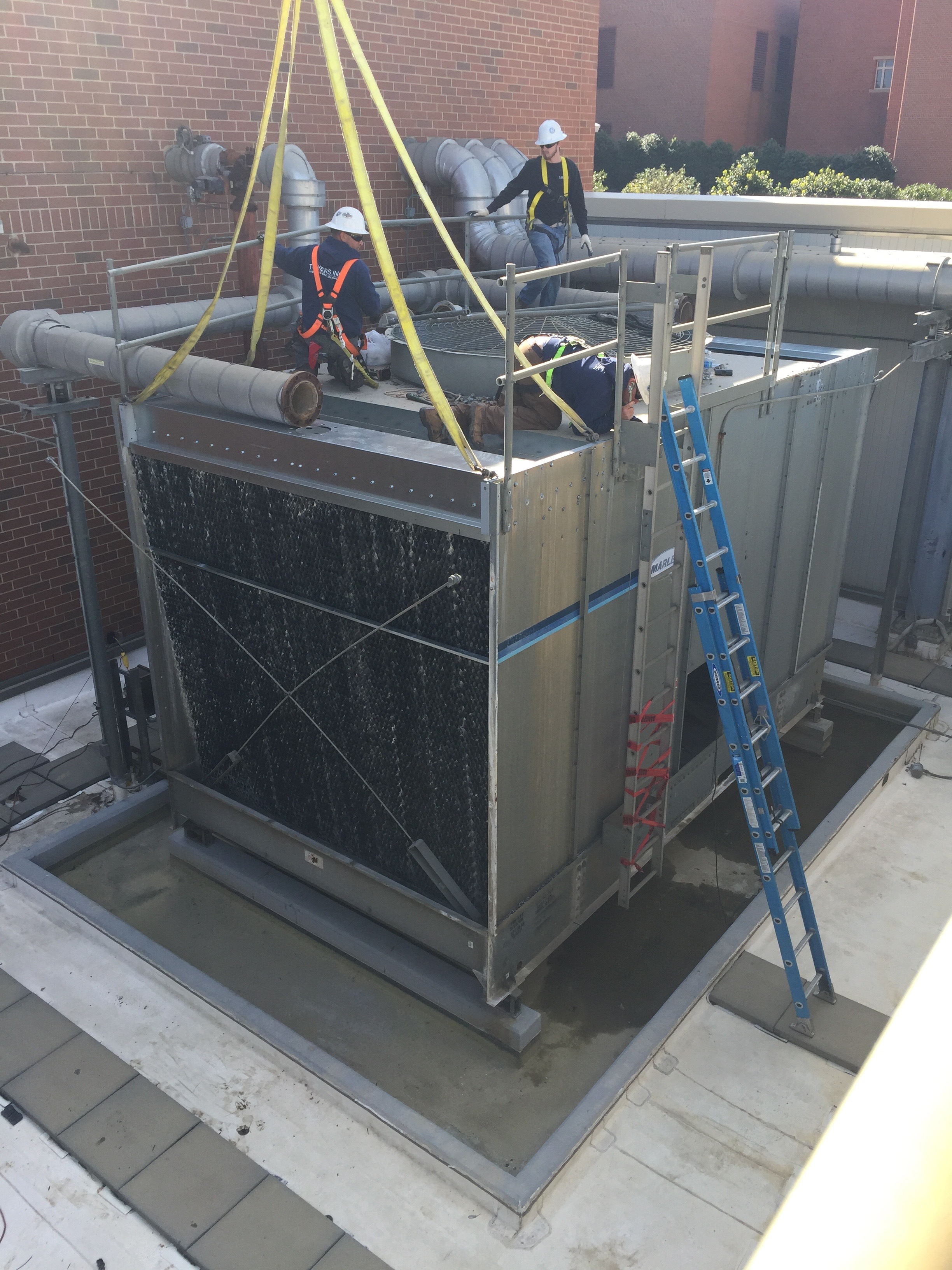 Tower Repair and Reconstruction Services - Towers Inc. - Cooling Tower ...