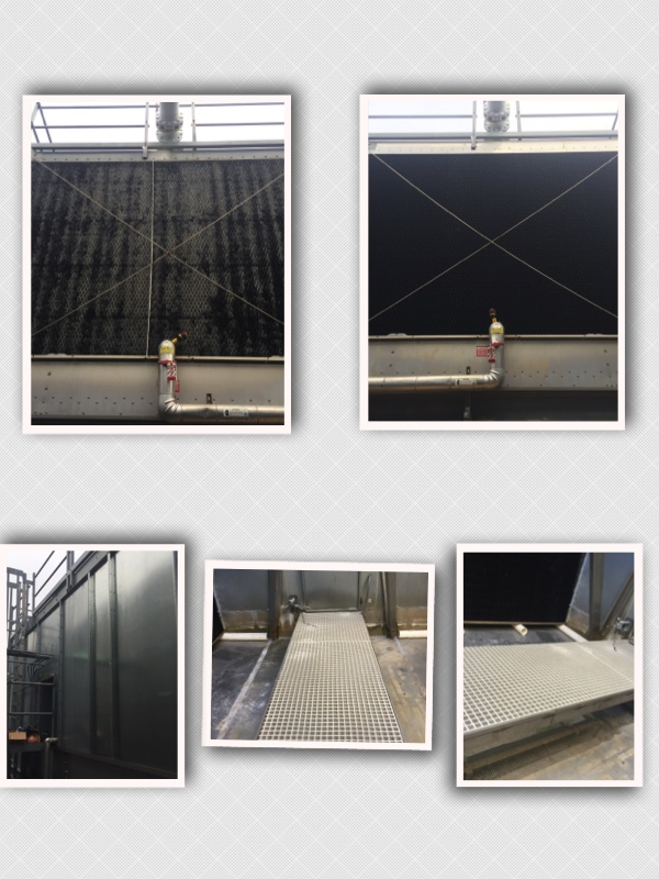 Marley Cooling tower Repair NC Cooling Tower Rebuild